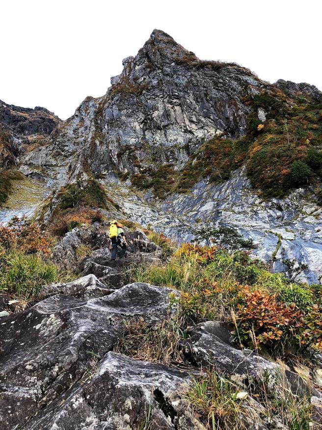 一ノ倉沢衝立岩中央稜