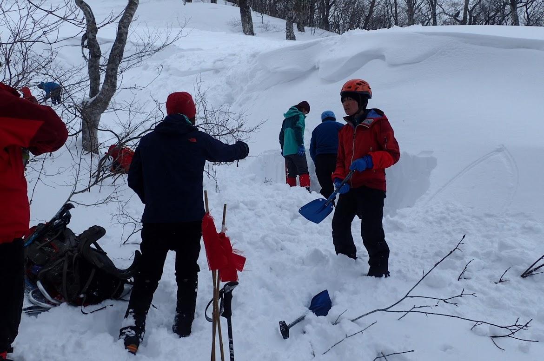 2月 会山行 雪洞訓練