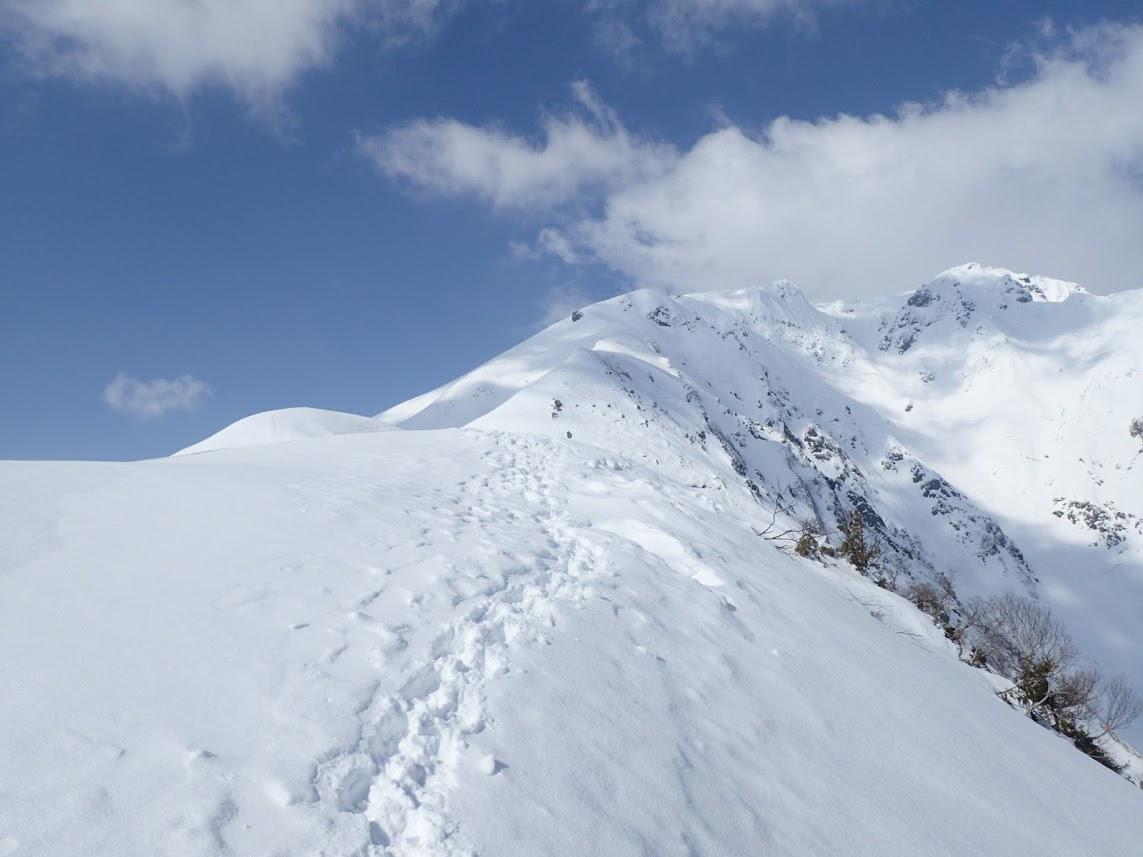 3月 会山行 雪上歩行訓練